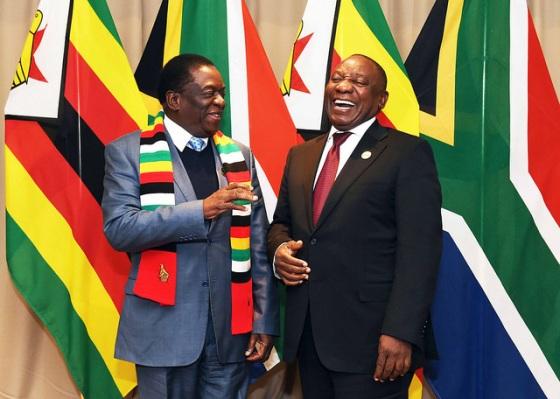 President Mnangagwa of Zimbabwe