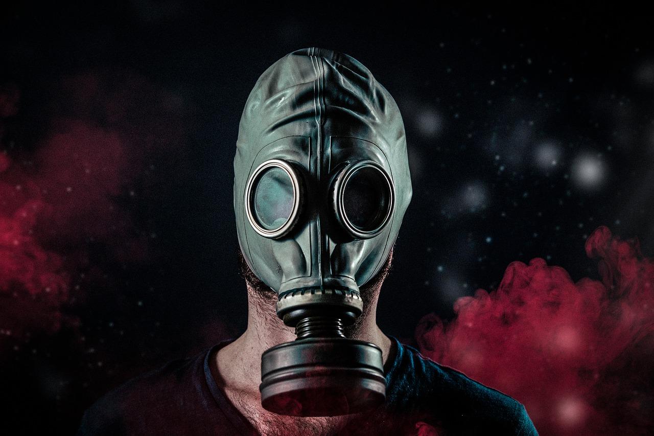Nuclear War Mask Russia Salisbury