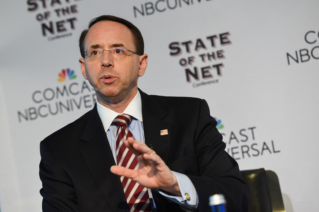 Rod Rosenstein Deputy Attorney General
